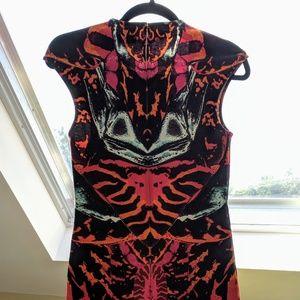 McQ Alexander McQueen Kaleidoscope Dress bodycon S
